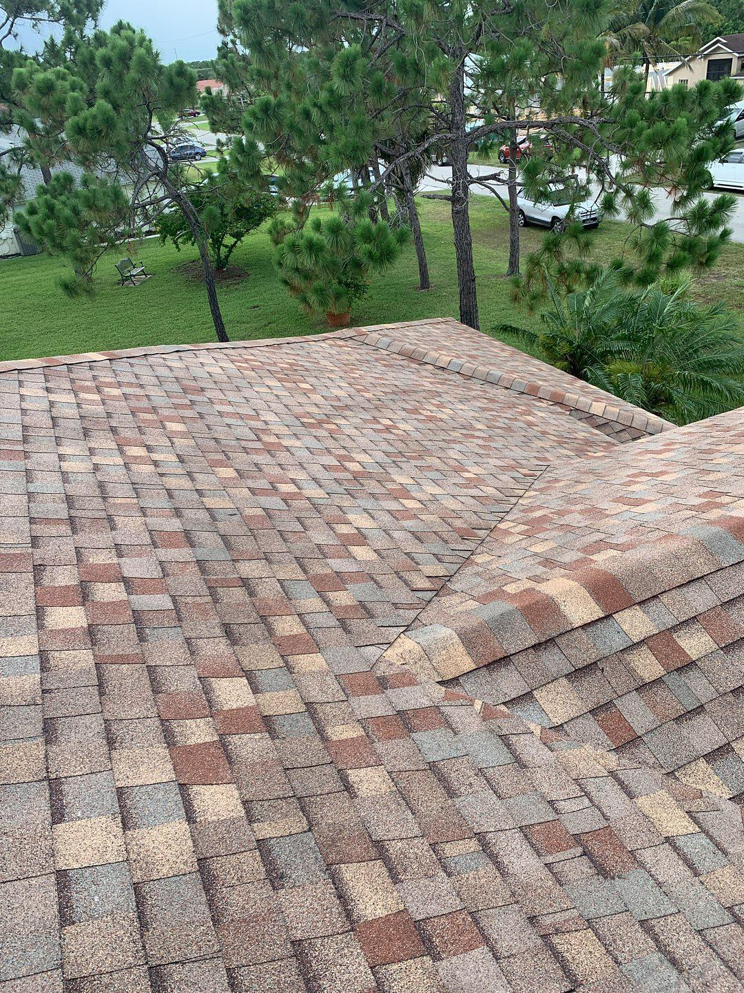 Roof replaced with Tamko Architectural shingles in Palm City