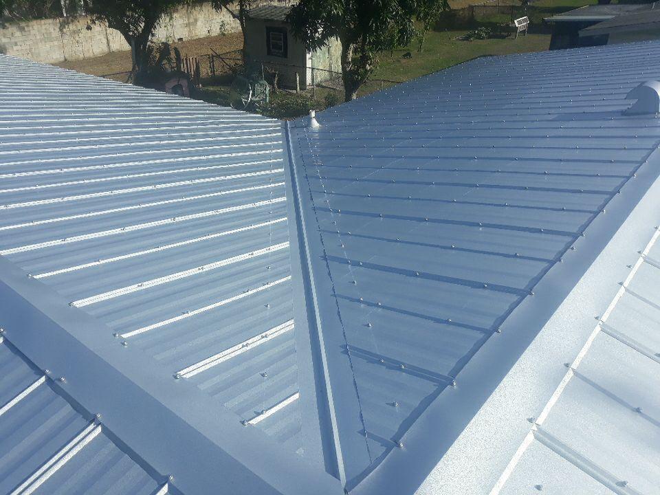 New Metal Roof in Fort Pierce FL